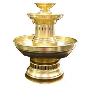 Gold Champagne Fountain 3 Gal