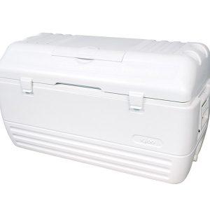 150 Qt White Cooler